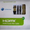 Streacom HDMI - HDMI Audio mix cable. HDMI1.4